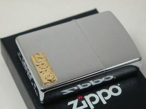 Zippo ゴールドメタル(ジッポーロゴ)金インゴット新品#200