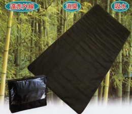 【送料無料】竹炭で湿気とにおいを吸着 竹炭敷パッド ダブルサイズ