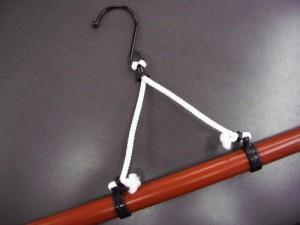 帯掛付伸縮着物きもの和装ハンガー2本組