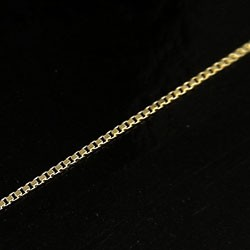 チェーン ベネチアンチェーンネックレス イエローゴールドK10 40cm 10金