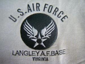 【CAパーカー】US  AIR FORCE裏フルサーマル ジップスエット(フード有)カジュアルアウター