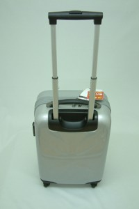 送料無料☆ABSトラベルスーツケース503シルバー【Sサイズ】軽量ファスナータイプ