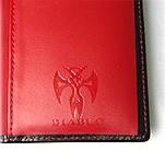 レア・希少品◆最新作◆DIABLOディアブロ男性用高級長財布★赤★馬革(コードバン)  【送料無料】