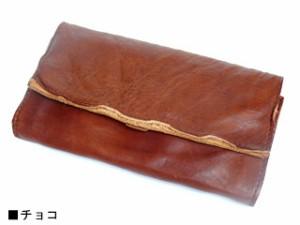 TIDEWAY タイドウェイ BELLY ベリーシリーズ ウォッシュレザーロングウォレット チョコ 63-0617 送料無料