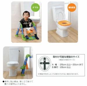 3WAY トイレトレーナー よいこレット NI-2750■1台3役!トイレトレーニングの強い味方!(日本育児)