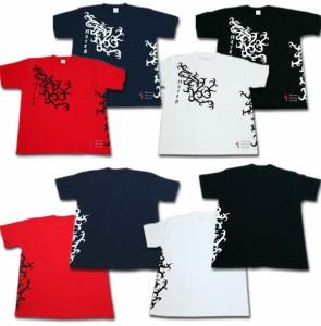 """【1】和柄Tシャツ """"トライバル"""""""