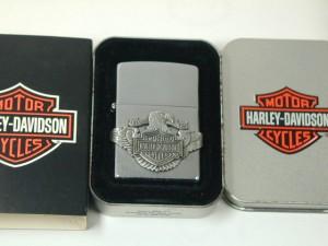 絶版ジッポーZippo ハーレー/Harlyイーグル・メタル/#200(USA)Harley Davidson新品
