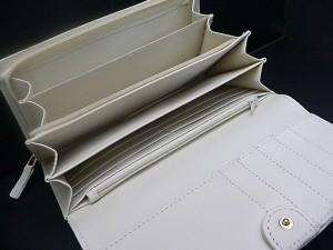 ブランドデザイン高級イントレチャート◆人気編み込みメッシュ長財布4201BKカード入れ収納多数