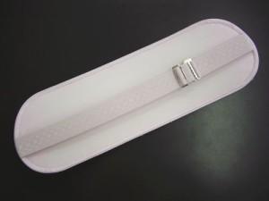 伸縮ベルト付前板帯板薄ピンク 和装着物&浴衣着付け小物