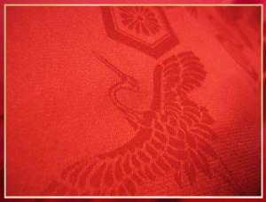 還暦祝い&敬老の日に 赤いちゃんちゃんこ綿入3点セット