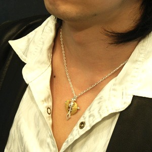 送料無料 【AVALON】エンジェルクロスシルバーペンダントトップ(チェーン付)