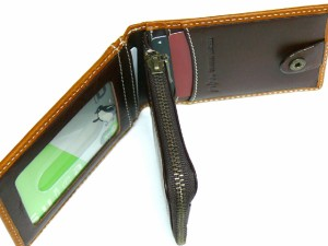 grips グリップス TONE トーンシリーズ 2トーンレザーパスケース&コインケース キャメル 31-1211 送料無料