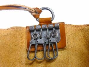 TIDEWAY タイドウェイ BELLY ベリーシリーズ ウォッシュレザーキーケース グリーン 63-0638