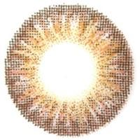 カラコン【エンジェルカラー】ワールドブラウン☆2枚1組【度なし/1ヶ月/14.0mm/ブラウン系/グラデーション】