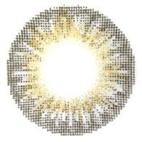 カラコン【エンジェルカラー】ワールドグレー☆2枚1組【度なし/1ヶ月/14.0mm/グレー系/グラデーション】