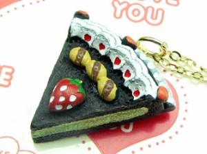 【ca198】スィーツアクセネックレス♪お菓子