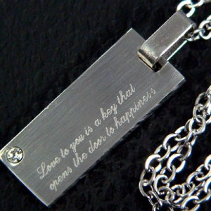 ★送料無料★刻印「あなたへの愛は幸福への扉を開く鍵です」2本セット【snt15×2個】