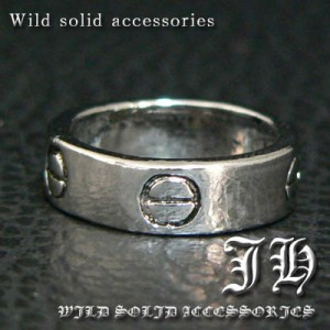 【R88★19号】ハイブランド系デザインリング♪高品質シルバーRG加工リング/指輪