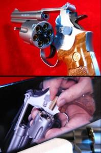 【遠州屋】 S&W-M686 .357mag  6in クラウンモデル製 HOP-UP ガスガン (市/R)★