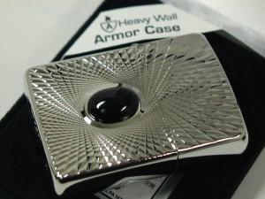 ジッポーZippoアーマーパワーストーン (天然石)オニキス両面柄armor新品