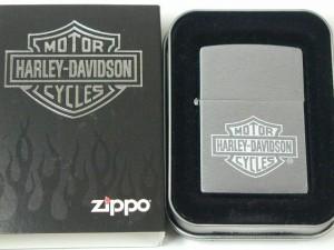ジッポーZippo ハーレーHarlyロゴ#200彫り・クローム(USA)Harley Davidson新品