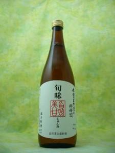 金寳自然酒の料理酒【【旬味】純米原酒1.8L