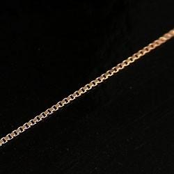 チェーン ベネチアンチェーンネックレス ピンクゴールドK18 40cm 18金