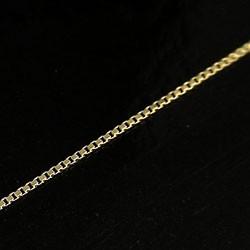 チェーン ベネチアンチェーンネックレス イエローゴールドK18 40cm 18金