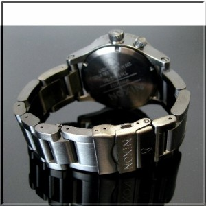 【NIXON/ニクソン】THE 42-20 メンズ ALL BLACK A035001 ダイバーズ【送料無料】【2008年WINTER新作】