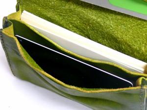 TIDEWAY タイドウェイ BELLY ベリーシリーズ ウォッシュレザーカードケース レッド 63-0815