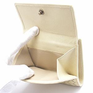 [あす着]ボッテガ・ヴェネタ/イントレチャートベージュ 二つ折財布 アウトレット 184159-vfef1-7850