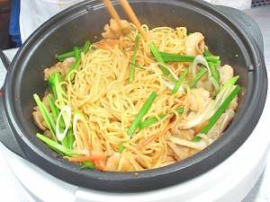 ホルモン焼き・もつ鍋用焼きそば麺 150g×1玉入り【B級グルメ】焼肉・モツ鍋