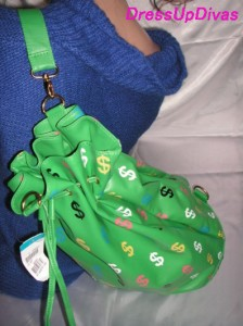 2Way☆$総柄ショルダー巾着リュックバック【BAG】