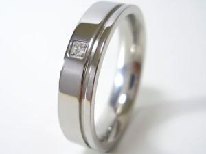 即納 ■送料無料■アダマスステンレスダイヤモンドリングz-gjrsd803