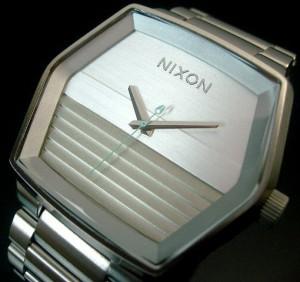 【NIXON/ニクソン】Mayor/メイヤー メンズ ホワイト/グレー【送料無料】A018611【2009年SPRING新作】