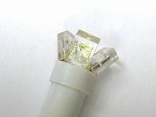T5 開花3連  LEDウエッジバルブ  ホワイト 5個Set