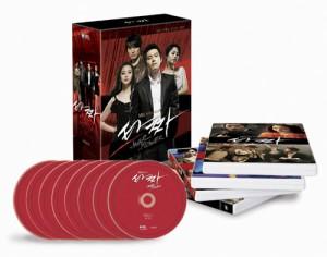 韓国ドラマ いかさま師(タッチャ) DVD (8Disc)