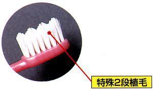 """☆世界初!""""美白""""歯ブラシ「水だけのブラッシングでもOK!」3本セット"""