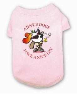 期間限定・Anny's ベースボールTシャツ(ピンク)
