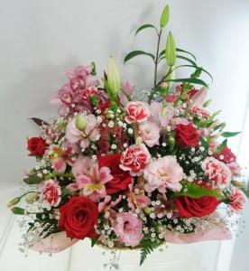 5月の誕生花★ファニーアレンジ10,000円【送料無料】ネット特価!