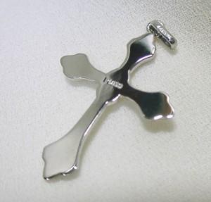 プラチナ十字架(クロス)のペンダントトップ:5日以内