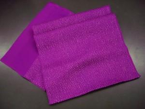 振袖に♪可愛さ&豪華さUP↑金通し帯揚げ紫