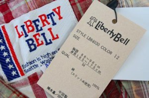 【70%OFF】【LIBERTY BELL】リバティベル オーバー チェック シャツ【メンズ【長袖】トップス