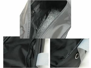 PVCスクールバッグ★ブラックグレー