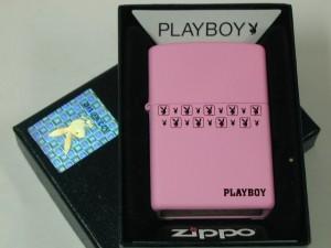 ジッポーZippoプレイボーイ Playboy ピンク綺麗なウサギ#24571桃色新品