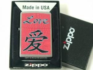 ジッポーZippo Love 愛(ラブ)#200 USA直輸入#24263USA直輸入新品未開封