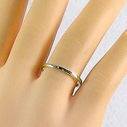 ペアリング 結婚指輪 マリッジリング イエローゴールドK18 指輪 送料無料 2本セット K18YG