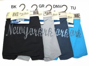 BVD NEW BODY バックプリントボクサー 【シャドーチェック】 M〜L