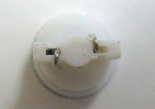 T10 2W級 LEDウェッジバルブ アルミヒートシンク ホワイト 2個Set ポジション メーター ナンバー