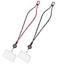 コクヨ×ファイテンIDカード用ネックストラップ・ネームホルダー/ナフ-FR180D・ナフ-FR180R/シングル